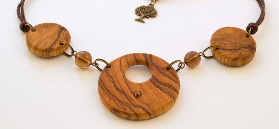 Ogrlice od maslinovog drva